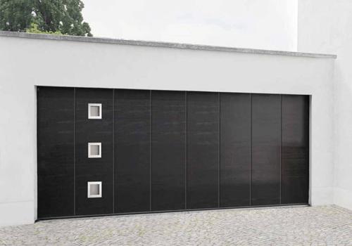 Porte garage latérale - Noir