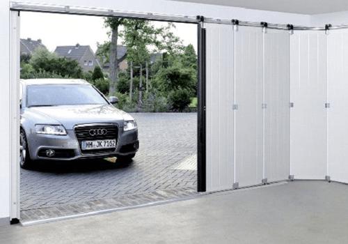 Porte garage latérale - Vue intérieure