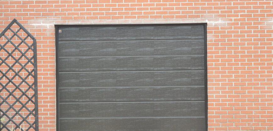 Porte Garage - Sectionnelle Brune foncée
