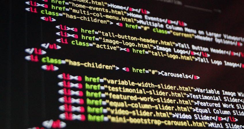 Code HTML - Blog